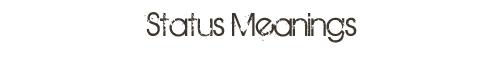 status meanings